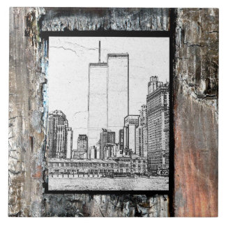 Twin Towers Tile