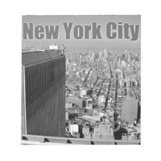 Twin towers World Trade Center NYC Scratch Pads