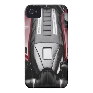 Twin Turbo car engine 2 iPhone 4 Cover