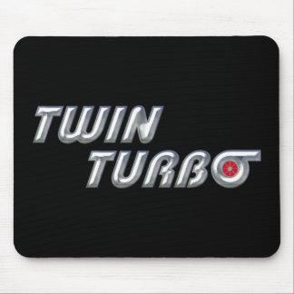 Twin Turbos II Mouse Pad