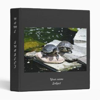 Twin Turtles - 3 Ring Binder