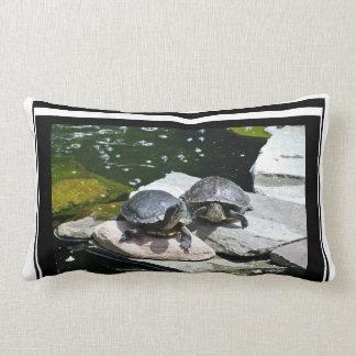 Twin Turtles - Lumbar Pillow