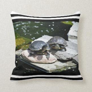 Twin Turtles - Throw Pillow
