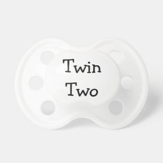 Twin Two Pacifier