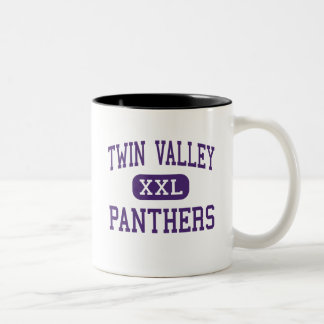 Twin Valley - Panthers - High - Pilgrims Knob Two-Tone Coffee Mug