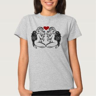Twin venus T-Shirts