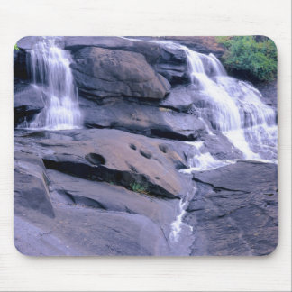 Twin Water Falls Mouse Pad