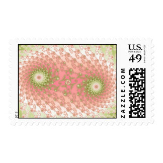 Twin Watermelons Postage Stamp