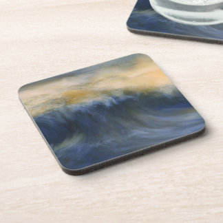 Twin Wave Beverage Coaster
