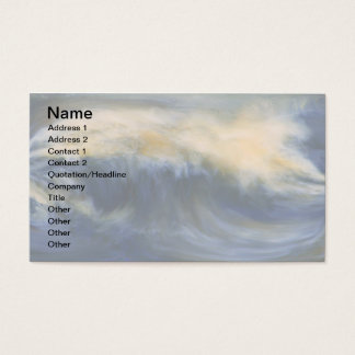Twin Wave Business Card