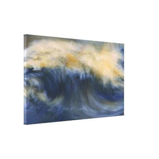 Twin Wave Canvas Print