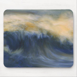 Twin Wave Mouse Pad