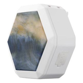 Twin Wave White Bluetooth Speaker