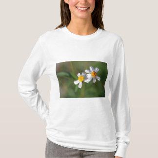 Twin White Flowers T-Shirt