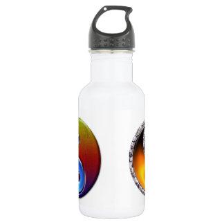Twin Ying Yang 18oz Water Bottle