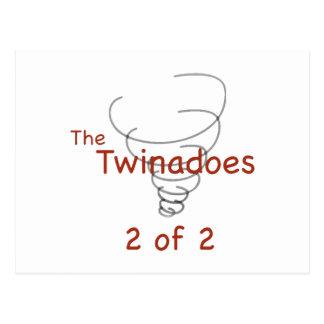 Twinadoes 2 of 2 postcard