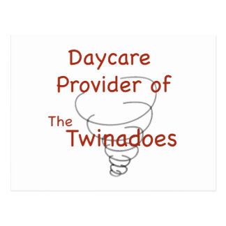 Twinadoes Daycare Provider Postcard
