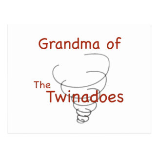 Twinadoes Grandma Postcard