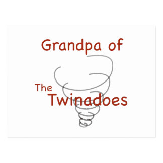 Twinadoes Grandpa Postcard