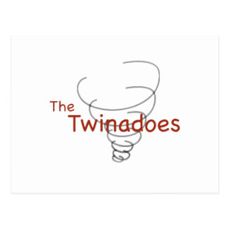 Twinadoes Graphic Postcard
