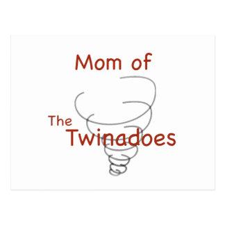 Twinadoes Mom Postcard
