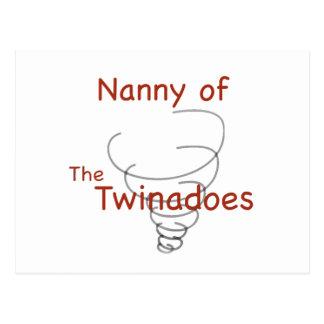Twinadoes Nanny Postcard