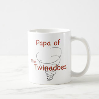 Twinadoes Papa Classic White Coffee Mug