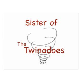 Twinadoes Sister Postcard