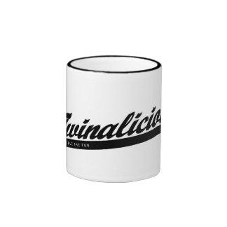 Twinalicious Coffee Cup Ringer Coffee Mug