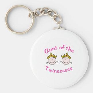 Twincess Aunt Keychain