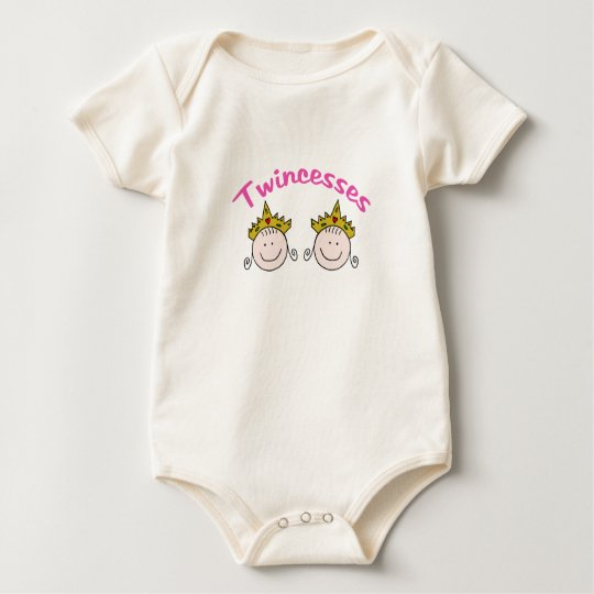 Twincess Graphic Baby Bodysuit