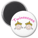 Twincess Graphic Refrigerator Magnets