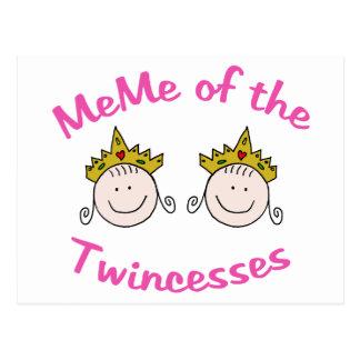 Twincess Meme Postal