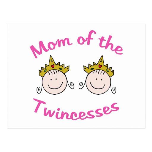 Twincess Mom Postcard