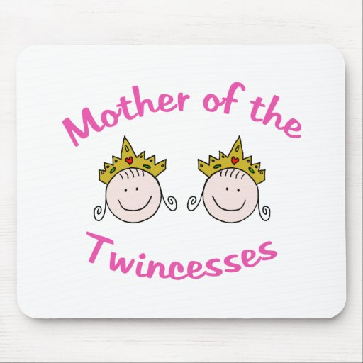 Twincess Mother Mouse Pad