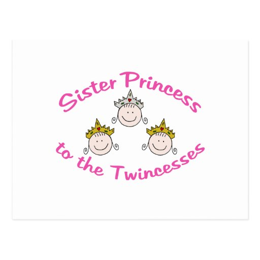 Twincess Sister Post Cards