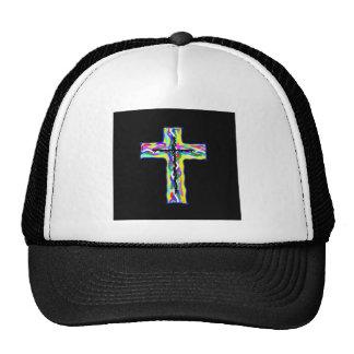 Twined Cross Mesh Hat