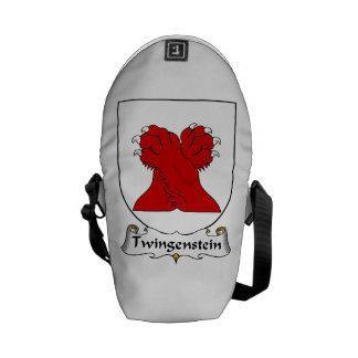 Twingenstein Family Crest Courier Bag