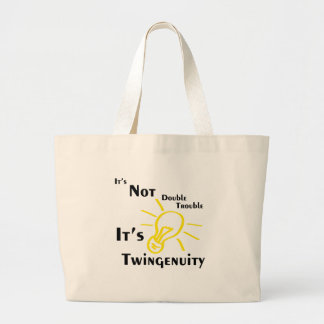 Twingenuity Large Tote Bag