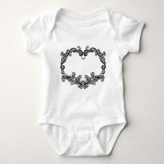 Twining Heart Baby Bodysuit