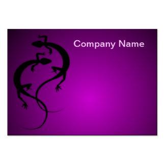 Twining Lizards Chubby Business Card