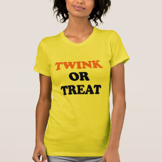 TWINK OR TREAT T SHIRT