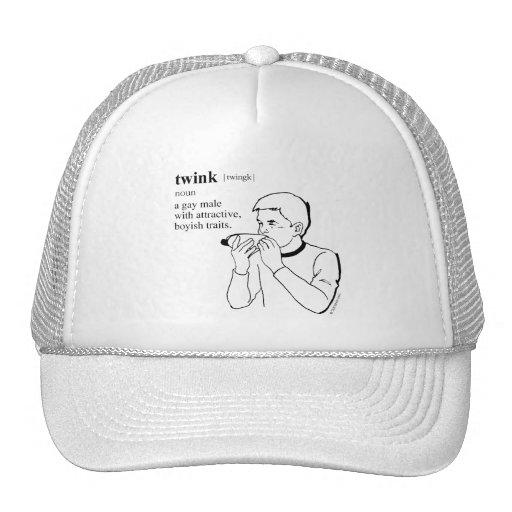 TWINK TRUCKER HATS