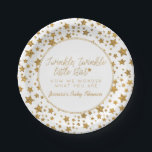 "Twink, Twinkle Little Star Baby Shower Paper Plate<br><div class=""desc"">Twink,  Twinkle Little Star Baby Shower Paper Plates.</div>"
