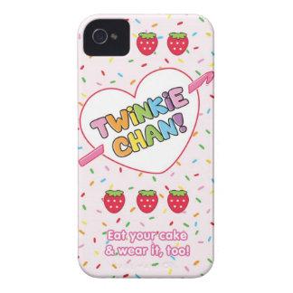 Twinkie Chan Pink Blackberry Case