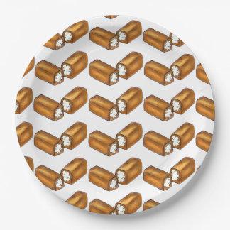 Twinkie Cream-Filled Snack Cake Food Foodie Plate