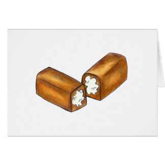 Twinkie Cream-Filled Snack Cake Junk Food Foodie Card
