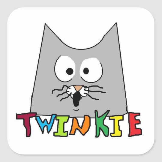 Twinkie the Cat Sticker