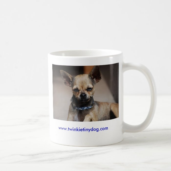 TWINKIE TINY DOG COFFEE MUG