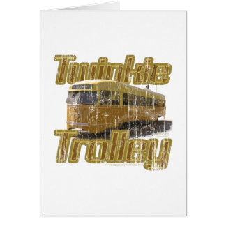 Twinkie Trolley Card